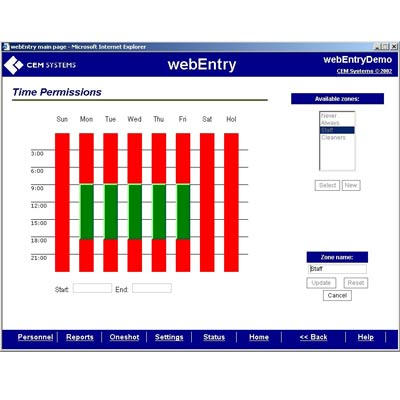 webEntry  - access control over the Internet