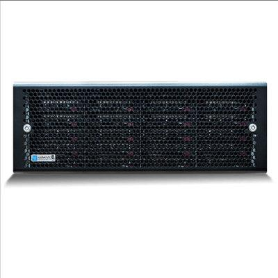 Wavestore X424-240PU24-HR-8G-NA-D11 4U rack-mount NVR, 240TB storage, 2,400Mbps, HyperRAID and EcoStore ready, dual PSU