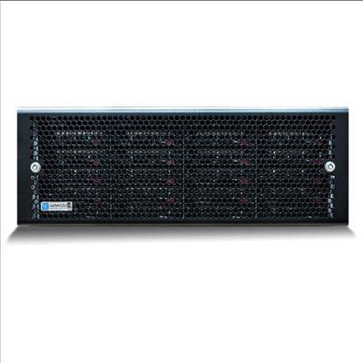 Wavestore X424-32PU4-HR-4G-NA-D11 4U Rack-mount NVR, 32TB Storage, 1,200Mbps, HyperRAID And EcoStore Ready, Dual PSU