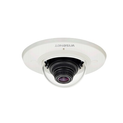 Hanwha Techwin America XND-6011F 2MP Indoor Flush Mount Compact Dome Camera