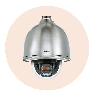 Hanwha Techwin America XNP-6320HS 2M 32x Network stainless PTZ Dome Camera