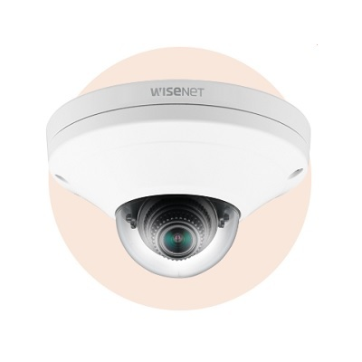 Hanwha Techwin America XNV-6011W X series 2MP Compact Vandal Dome (white)