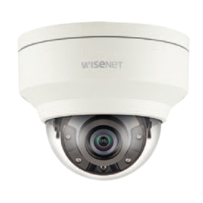 Hanwha Techwin America XNV-8040R 5MP Vandal-Resistant Network IR Dome Camera