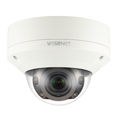 Hanwha Techwin America XNV-8080R 5MP Vandal-Resistant Network IR Dome Camera