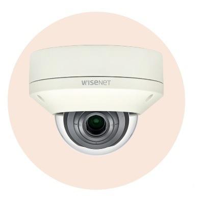 Hanwha Techwin America XNV-L6080 2M Vandal-Resistant Network Dome Camera