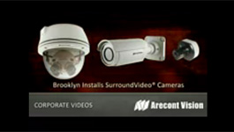 Arecont Vision SurroundVideo panoramic cameras installed at Brooklyn, New York neighborhood