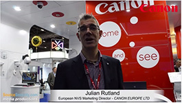 Canon Showcases High-end Network Cameras At IFSEC 2015