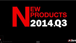 Dahua TV Latest products released in 2014/Q3