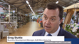 GJD manufacturing features in 'Creating a Security Culture' programme
