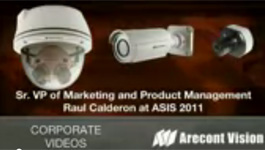 Arecont introduces 20 Megapixel SurroundVideo® panoramic cameras and MegaDome® 2 camera series at ASIS 2011