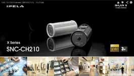 The Features Of Sony's SNC-CH210 Megapixel Camera