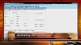 How to activate cardholder in Traka-Lenel OnGuard integrated security management system