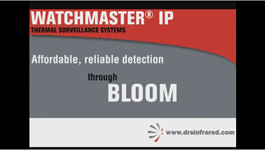 DRS Technologies' WatchMaster IP Detects Clear Images Under Bloom of Light & Glare from Light