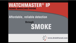 DRS WatchMaster IP Elite Thermal Imaging Surveillance Camera with Image Contrast Enhancement