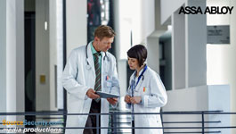 Aperio wireless locks secure medical institutions
