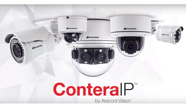 Arecont Vision® ConteraIP™ Securing Small Business Garage
