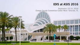 IDIS at ASIS 2016