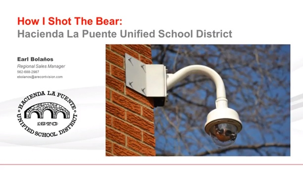 Arecont Vision case study - Hacienda La Puente Unified School District