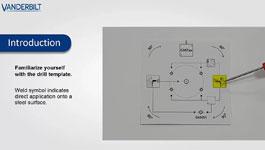 Vanderbilt seismic detector drill template guide