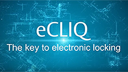 ASSA ABLOY eCLIQ programmable keys and cylinders