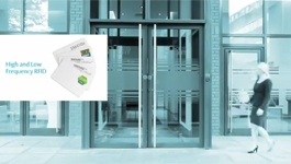 ASSA ABLOY Aperio Wireless Lock Technology with High & Low Frequency RFID