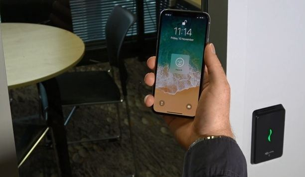 Unlock doors with facial recognition and Gallagher Security's Mobile Connect