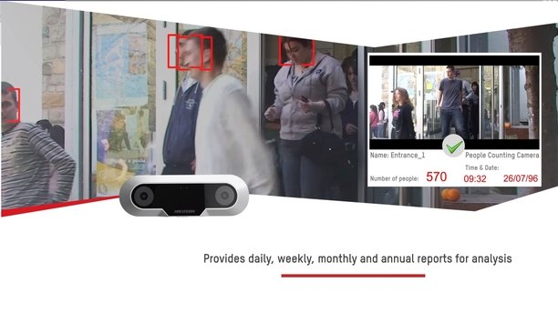 Hikvision introduces People Counting Camera