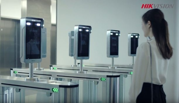 Hikvision Turnstile Face Recognition Terminal