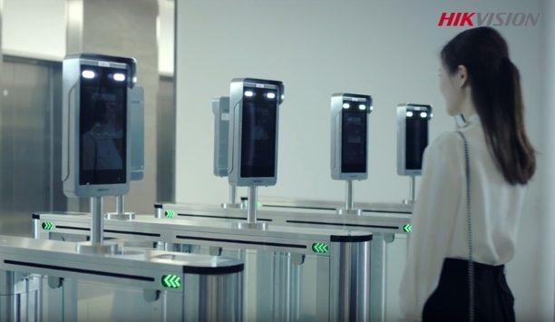 Hikvision Turnstile Face Recognition Terminal