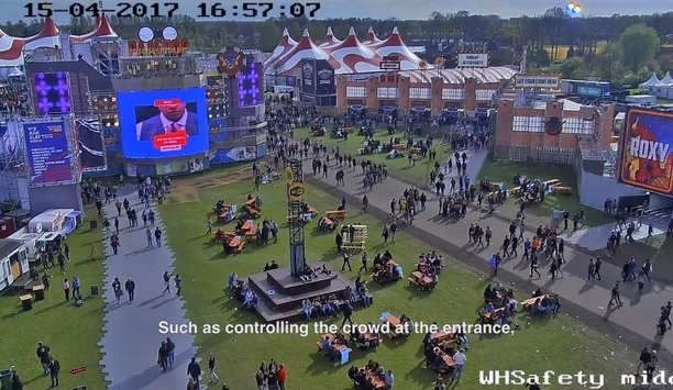 Hikvision provides surveilalnce to Popular PassPop festival