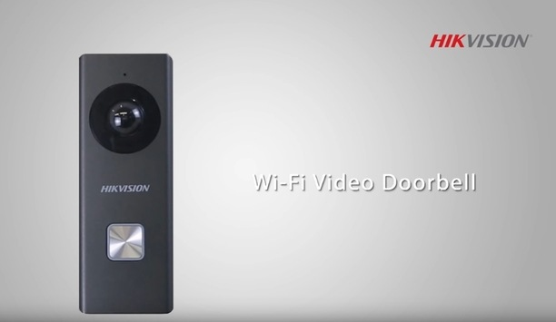 Hikvision installation guide - Wi-Fi doorbell