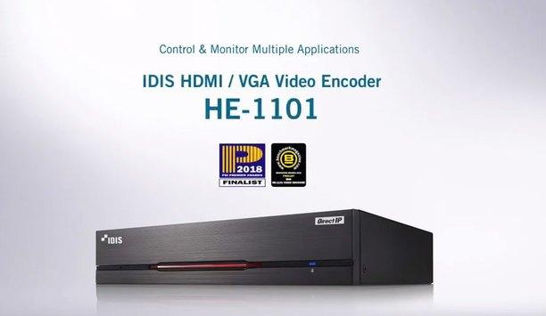 IDIS HDMI / VGA video encoder – control and monitor multiple applications