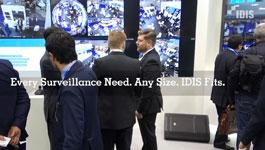 IDIS video surveillance solutions  at IFSEC 2016