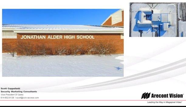 Arecont Vision case study - Johnathan Alder High School Case Study