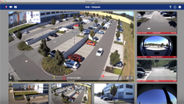 MOBOTIX MxManagementCenter demo: Instant playback & event bar