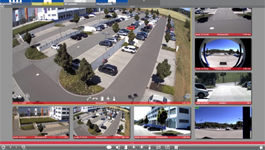 MOBOTIX MxManagementCenter demo: User interface navigation & different views