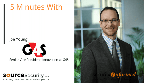'5 Minutes With' Video Interview with Joe Young from G4S