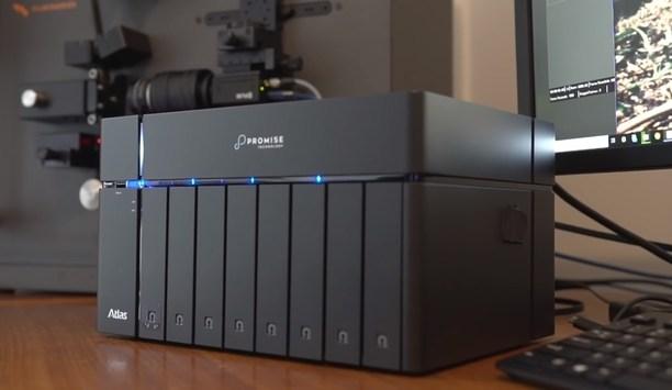 PROMISE Atlas S8+ 10Gbit NAS server digitises motion picture film to 4K