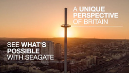 British Airways i360 reaches unprecedented heights, helped by Seagate Skyhawk