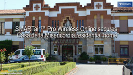 SMARTair Wireless Online Secures Casa De La Misericordia Residential Home