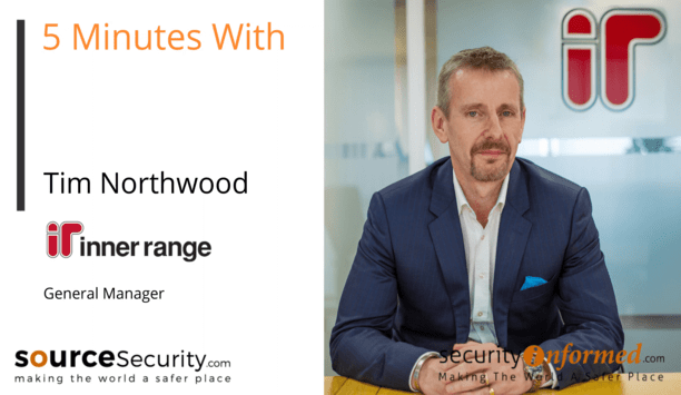 Access Control and Security Solutions: '5 Minutes With' Video Interview with Tim Northwood from Inner Range