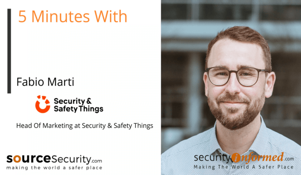 Software Libraries, Security Applications and Open Platforms: '5 Minutes With' Video Interview with Fabio Marti from Security & Safety Things