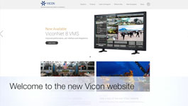 The new Vicon website