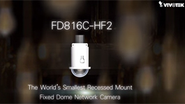 VIVOTEK FD816C-HF2 Network Camera 64x