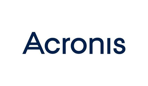 Acronis To Host A Webinar On The Launch Of Partner Portal Software