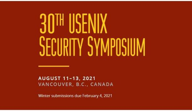 30th USENIX Security Symposium